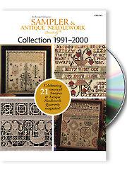 Sampler & Antique Needlework Quarterly 1991-2000
