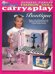 Fashion Doll Carry & Play Boutique