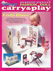 Fashion Doll Carry & Play Craft Room