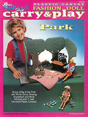 Fashion Doll Carry & Play Park