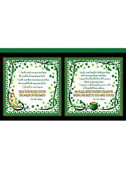 "Irish Blessing Panel - 24"" x 42"""