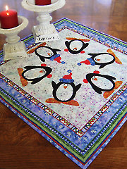 Penguin Dance Table Topper Pattern