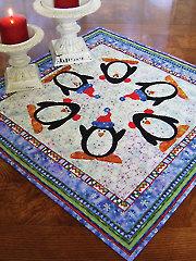 Penguin Dance Table Topper Pattern