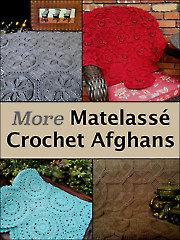 More Matelasse Crochet Afghans