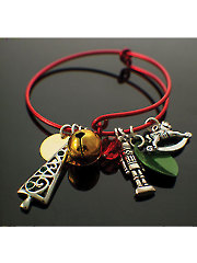 Christmas Charmed Bangle Kit-Red