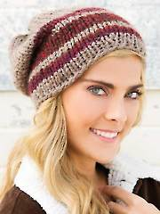 ANNIE'S SIGNATURE DESIGNS: Gemini Hat Knit Pattern