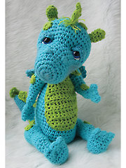 Cute Dragon Crochet Pattern