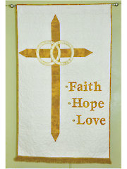Wedding Banner of Faith Quilt Pattern