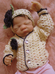 Aggie Baby Sweater & Headband