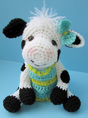 Cute Cow Crochet Pattern