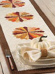 Autumn Dresdens Table Runner Pattern