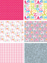 Le Elephant Pink 1/2-Yard Cuts - 6/pkg.