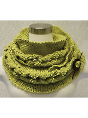 Big Cable Crochet Cowl