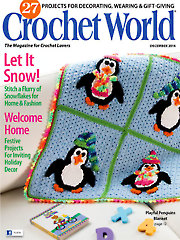Crochet World December 2014
