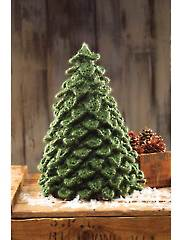 ANNIE'S SIGNATURE DESIGNS: Crocodile Knit Christmas Tree Knit Pattern