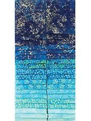 Artisan Spirit Shimmer Blue Lagoon Jelly Roll - 40/pkg.