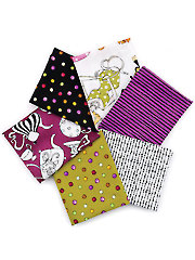 Ladies Tea Party Fat Quarters - 6/pkg.