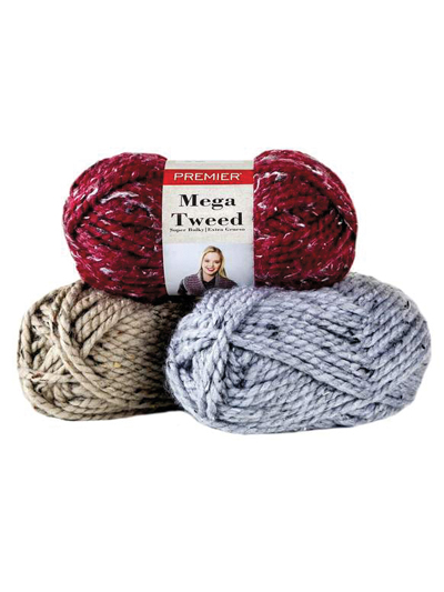 Premier� Yarns Mega Tweed