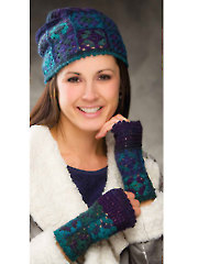 Coldwater Canyon Hat & Mitts Annie's Signature Designs