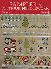 Sampler & Antique Needlework Quarterly Winter 2014