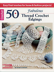 50 Fabulous Thread Crochet Edgings