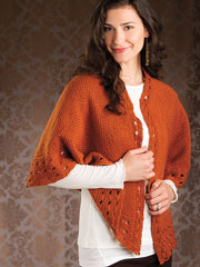 Sylva Shawl Knit Pattern