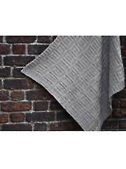 Dutch Tiles Blanket Knit Pattern
