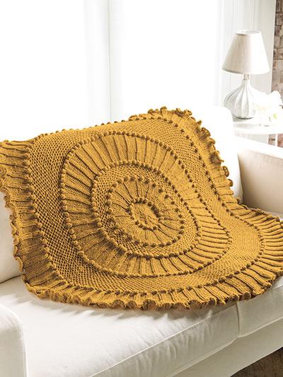 ANNIE'S SIGNATURE DESIGNS: Matelasse Lapghan Knit Pattern