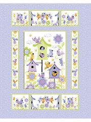 "Bird's House Panel - 36"" x 44"""