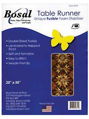 "Bosal Unique Fusible Foam Table Runner Pad - 20"" x 50"""