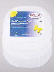 Placemat Craft Pack - Oval