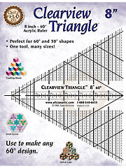 Clearview Triangle� Ruler - 8""