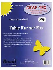 "Craf-Tex Double-Sided Fusible Table Runner Pad - 20"" x 50"""
