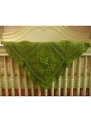 Ariel Counterpane Baby Blanket