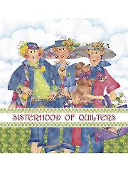 "Sisterhood of Quilters Panel - 10"" x 10"""