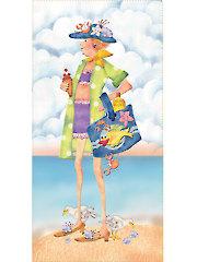 "Charity Beach Art Panel - 6"" x 12"""