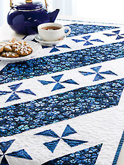Pinwheel Pirouette Table Runner Pattern