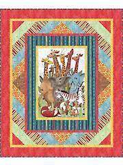 Jungle Party Quilt Pattern