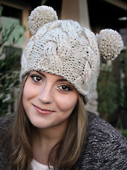 ANNIE'S SIGNATURE DESIGNS: Bae Hat Knit Pattern