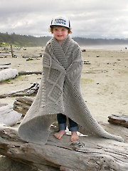 Bonfire Blanket Knit Pattern