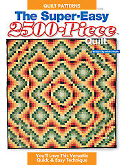 The Super-Easy 2500-Piece Quilt