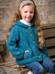 ANNIE'S SIGNATURE DESIGNS: Cadet Cardi Knit Pattern