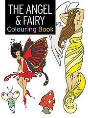 The Angel & Fairy Colouring Book