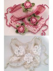 Flower Ballerina Slippers
