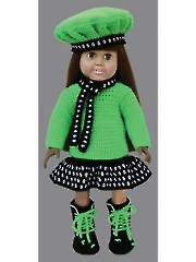 "Positively Polka Dots for 18"" Dolls"