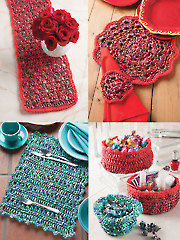 Crochet with Raffia, Home Accessories