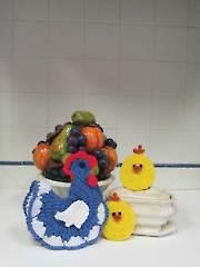 Hens & Chicks Pot Holders