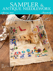 Sampler & Antique Needlework Quarterly Spring 2015