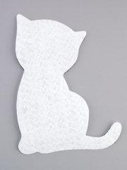 Kitten Mug Rug Interfacing - 4/pkg.