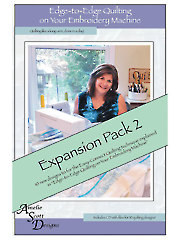 Edge-to-Edge Quilting Expansion Pack 2 CD